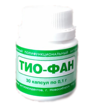 Тиофан капсулы